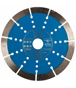 ZBM Diamond Tools 150/22,2mm Pristis Quartser 5th Beton lichtblauw