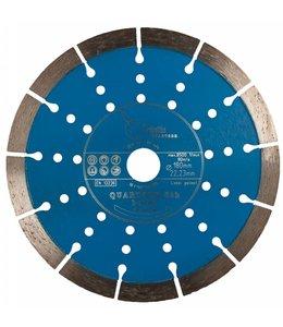 Pristis 180/22,2mm Pristis Quartser 5th Beton lichtblauw