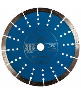 ZBM Diamond Tools 230/22,2mm Pristis Quartser 5th Beton lichtblauw