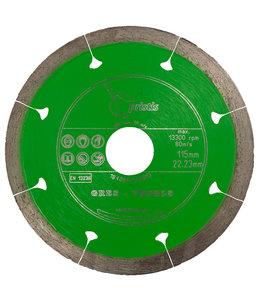 Pristis 115/22,2mm x 1,5mm Gres-Joint-Segm. keramiek tegels groen