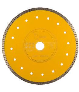 Pristis 230/25,4mm x 1,6mm Gres-Turbo keramiek/graniet  geel