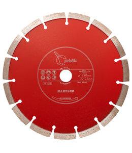 ZBM Diamond Tools 350/20,0mm Pristis Maxplus universeel rood motorslijper Xtra