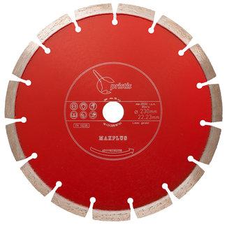 Pristis   MaxPlus Xtra 350/20,0mm Pristis Maxplus universeel rood motorslijper Xtra
