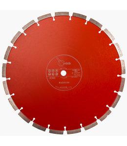 Pristis 350/15,88mm Pristis Maxplus universeel rood handmuurzg