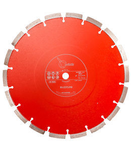 ZBM Diamond Tools 300/15,88mm Pristis Maxplus universeel rood handmuurzg