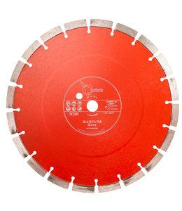 ZBM Diamond Tools 300/20,0mm Pristis Maxplus universeel rood motorslijper Xtra
