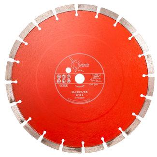 Pristis   MaxPlus Xtra 300/20,0mm Pristis Maxplus universeel rood motorslijper Xtra