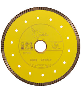 Pristis 180/30,0/25,4mm x 1,6mm Gres-Turbo keramiek/graniet  geel