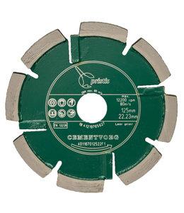 Pristis 125/22,2x6,0mm Pristis Cementvoegenfrees slijtvast groen