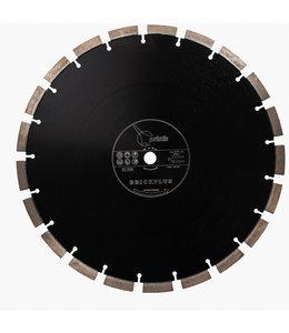 Pristis 350/15,88mm Pristis Brickplus 13mm Segm. baksteen zwart