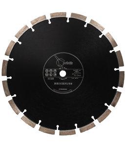 ZBM Diamond Tools 300/15,88mm Pristis Brickplus 13mm Segm. baksteen zwart