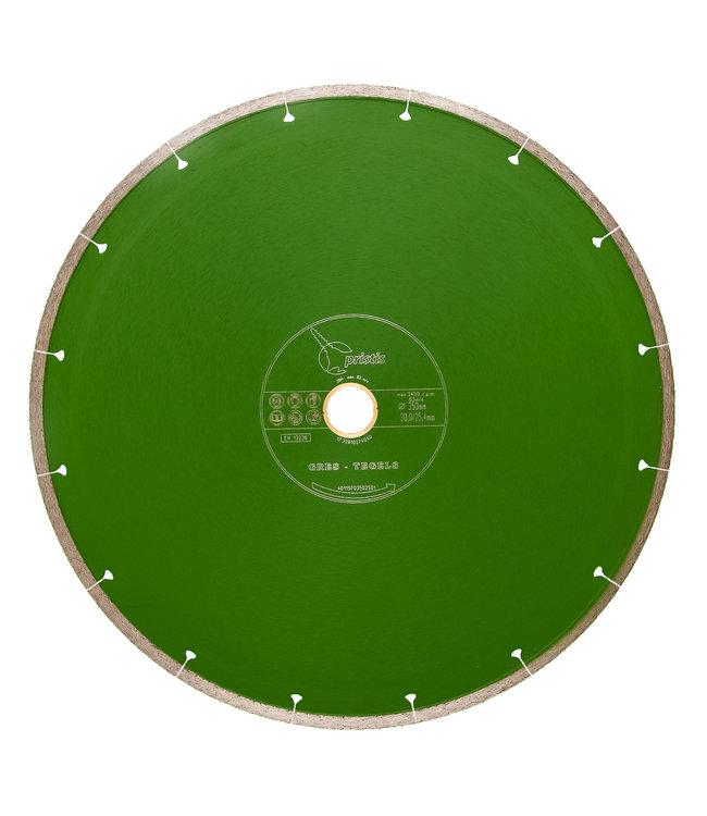 ZBM Diamond Tools Diamantzaag-350/30,0/25,4mm x 2,1mm Gres-Joint-Segm. keramiek tegels groen
