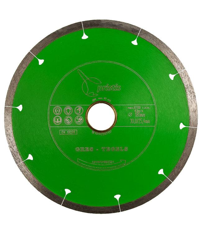 Pristis 150/22,2mm x 1,6mm Gres/ keram. tegels /Joint-Segm. groen