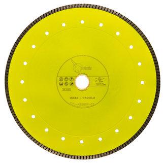Pristis 300/30,0/25,4mm 2,2mm Gres-Turbo keramiek/graniet  geel