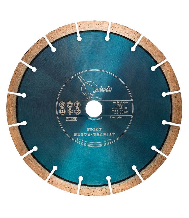 ZBM Diamond Tools Diamantzaag-230/22,2mm Pristis Flint Beton / Graniet