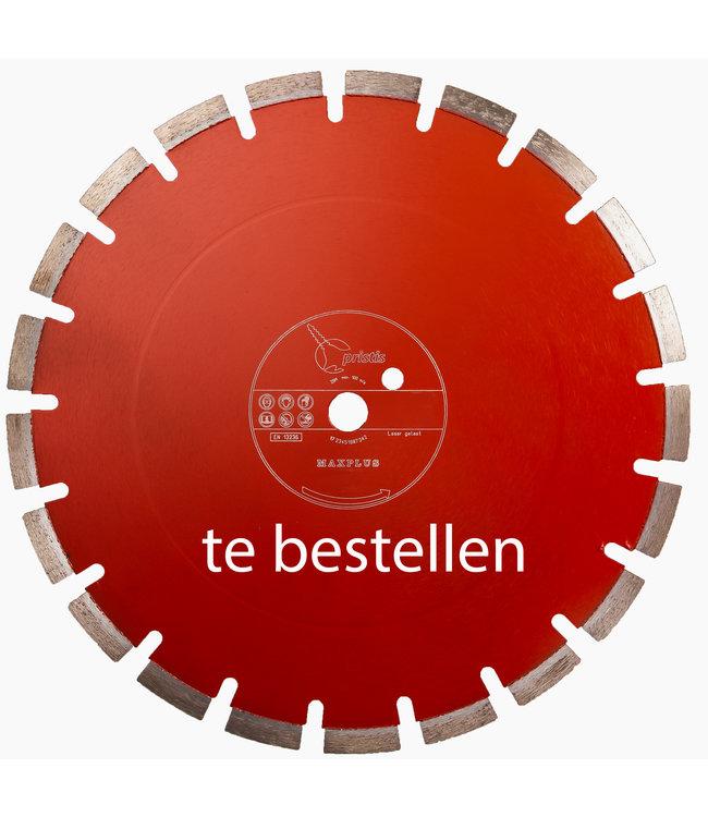 Pristis Diamantzaag-700/25,4mm Pristis Maxplus universeel rood tafelzaag/steenzaag