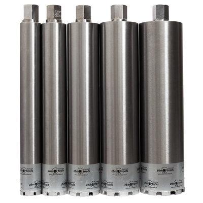 Dikwandig segmentboren 52-450mm 5/4UNC aansluiting