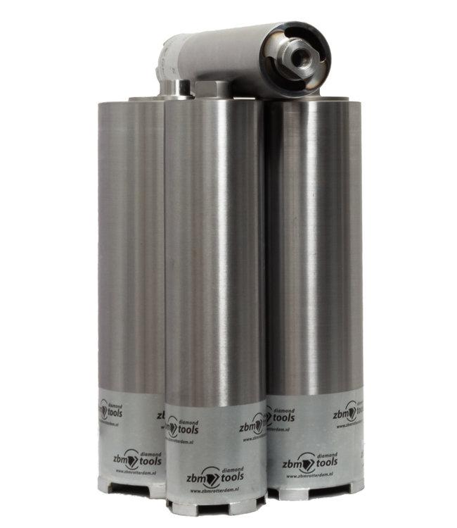 ZBM Diamond Tools Droogboor - 122/150 M16S Diamantboor BOXER Droog VT voor stofafzuiging