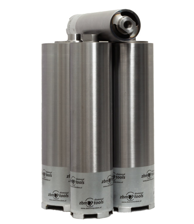 ZBM Diamond Tools Droogboor - 122/300 M16S Diamantboor BOXER Droog VT voor stofafzuiging