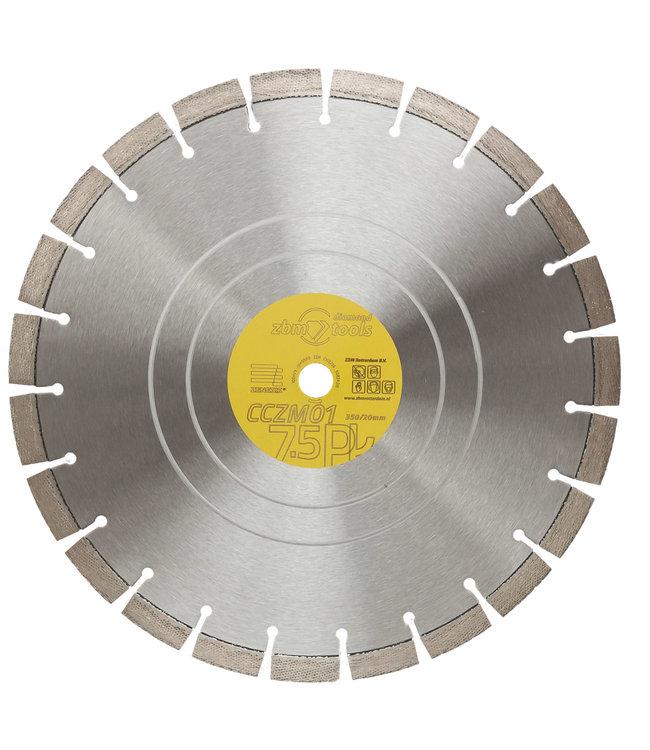 Zenesis Diamantzaag-350/20,0mm Zenesis CCZM01 Beton Motorslijper geel