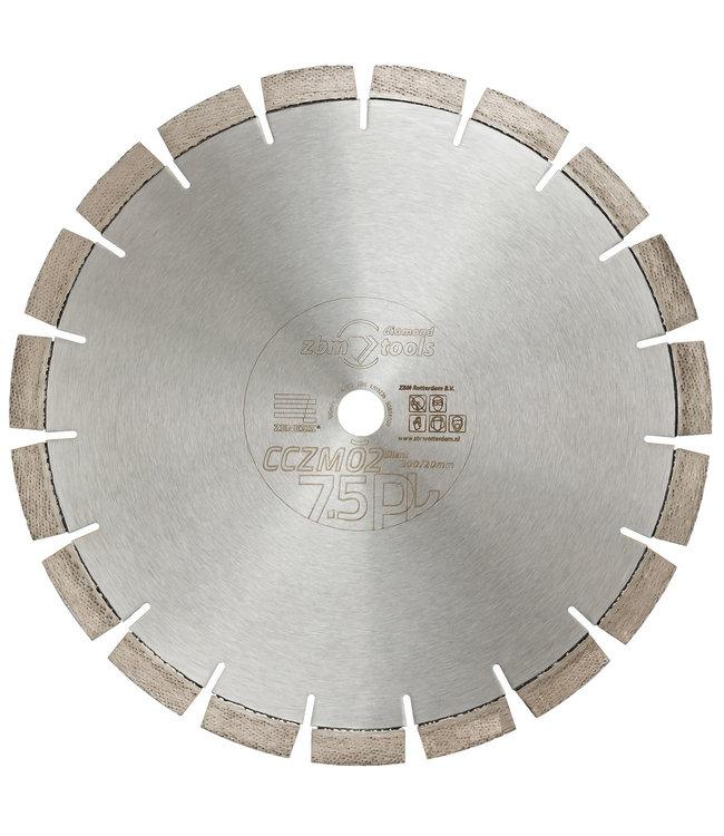 Zenesis Diamantzaag-300/20,0mm Zenesis CCZM02S Beton Motorslijper geel SILENT