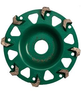ZBM Diamond Tools 125/22,2mm komschijf Raptor RA+ groen