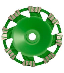 Pristis 180/22,2mm Pristis komschijf Butterfly Green Flex laag