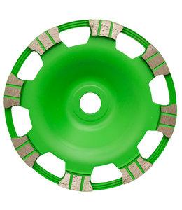Pristis 180/22,2mm Pristis komschijf Butterfly Green