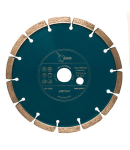 Pristis 200/25,4mm x 9,5mm Pristis Betonfrees Blauw ZBM