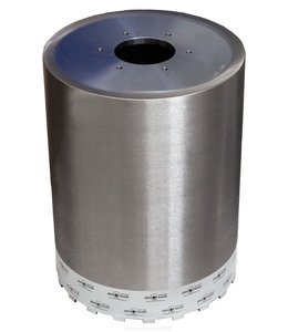ZBM Diamond Tools 500/1000 mm Diamantboor dikwandig bajonetaansluiting