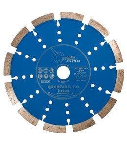 ZBM Diamond Tools 200/22,2mm BV Pristis Quartser 7th Beton licht blauw