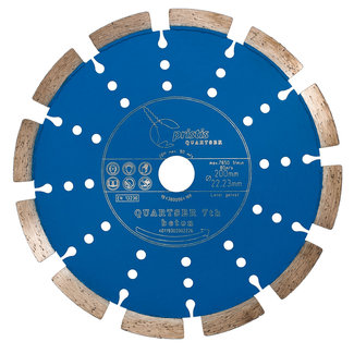 Pristis 200/22,2mm BV Pristis Quartser 7th Beton licht blauw