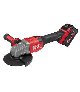 Milwaukee Milwaukee M18FHSAG125XB-552X FUEL haakse slijpmachine schuif