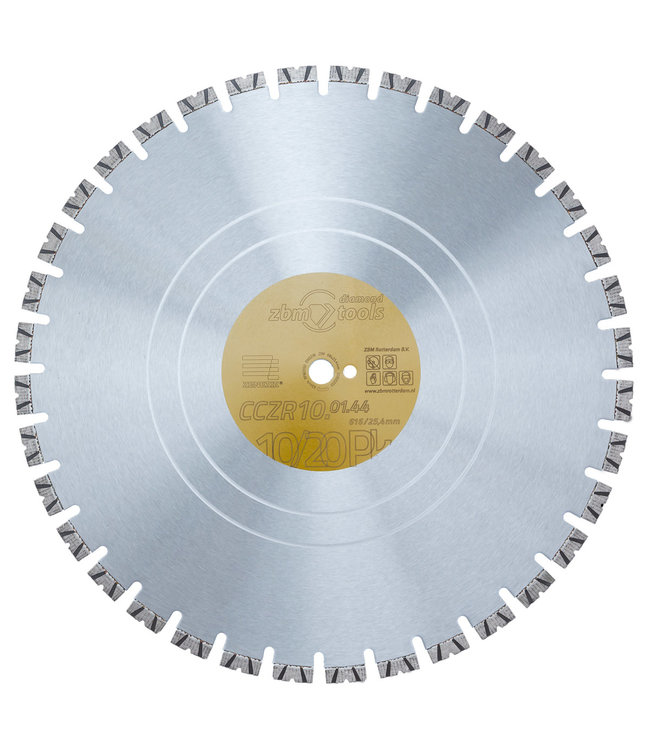 Zenesis Diamantzaag-816/25,4x4,4mm Zenesis CCZR10 beton 10-20PK geel Edition-R