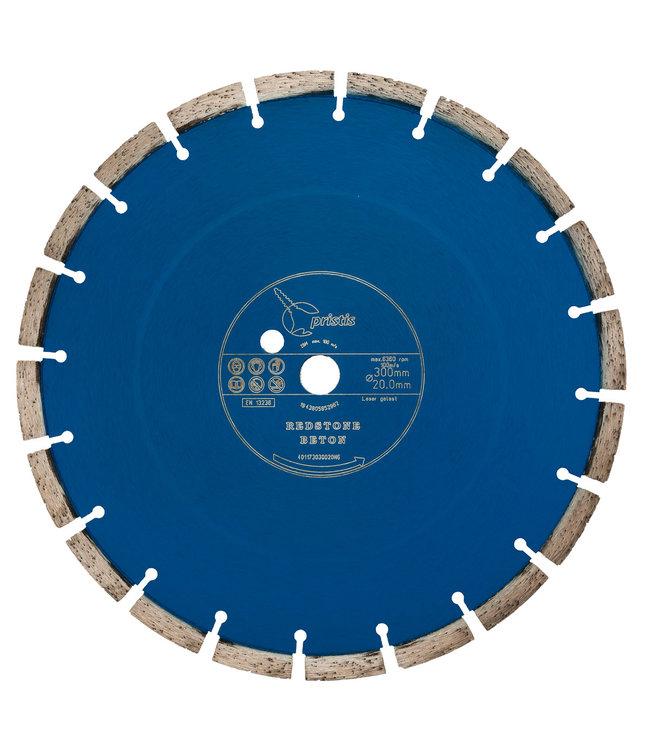 Pristis Diamantzaag-300/20,0mm Pristis Redstone Beton li-blauw