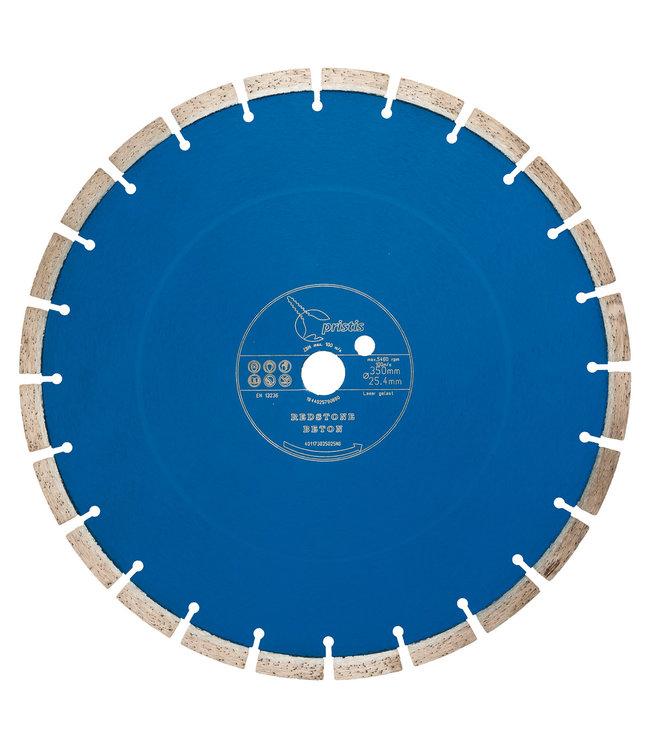 ZBM Diamond Tools Diamantzaag-350/25,4mm Pristis Redstone Beton li-blauw