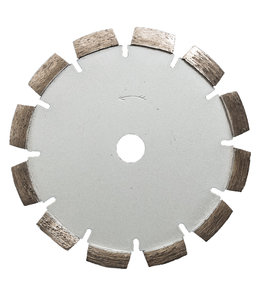 Pristis 180/22,2mm x 10mm Pristis V-Groef scheurenfrees beton