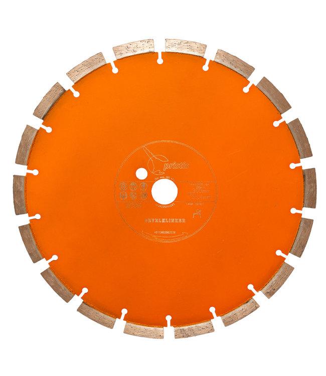 ZBM Diamond Tools Diamantzaag-350/25,4mm 3,0x13mm Pristis Gevelklinker Oranje