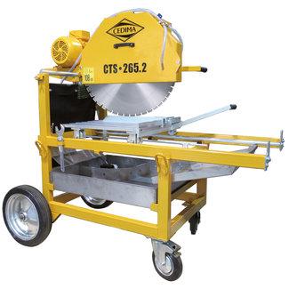 Cedima Steenzaagmachine CTS-265.2 400V-5,5KW, 650 zgbld: 265mm zgdiepte Inclusief gratis 600mm betonzaagblad