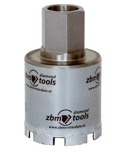 ZBM Diamand Tools 082/060 5/4 UNC Dozenboor WAVE dunwandig