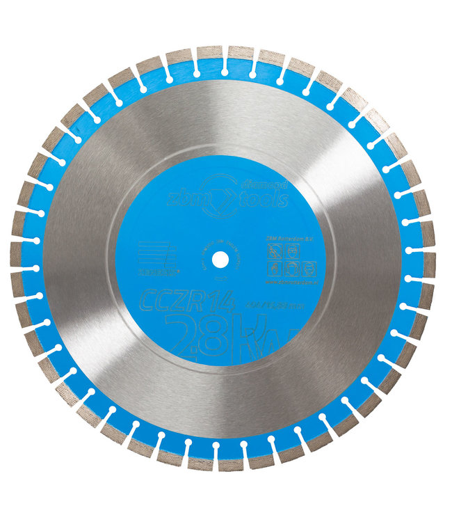 ZBM Diamand Tools Diamantzaag-400/15,88mm ZBM Zenesis CCZR14 beton Laser 12+2mm