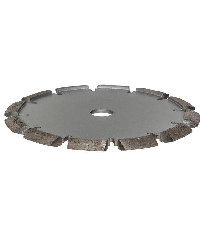 ZBM Diamond Tools Diamantzaag-180/22,2mm x 10mm Pristis V-Groef scheurenfrees beton