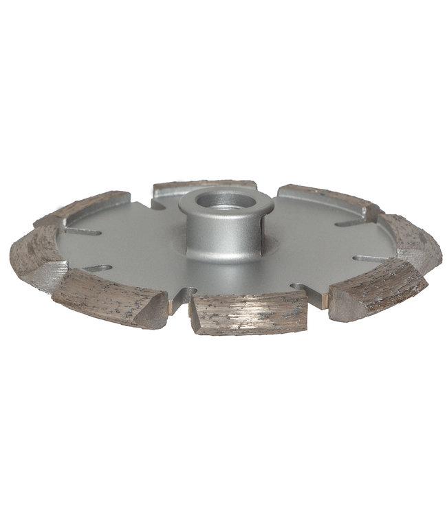 Pristis Diamantzaag-105mm/M14 x 10mm Pristis V-Groef scheurenfrees beton