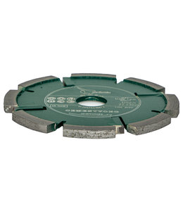 ZBM Diamond Tools 125/22,2x8,0mm Pristis Cementvoegenfrees slijtvast groen