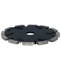ZBM Diamond Tools 150/22,2x6,0mm Pristis cementvoegenfrees zwart