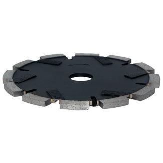 Pristis 150/22,2x6,0mm Pristis cementvoegenfrees zwart