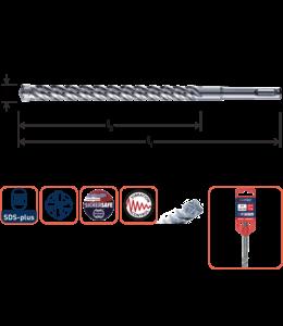 SDS+4  6,0x200/260mm S4 hamerboor 4-snijder (10 stuks)