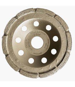 ZBM Diamond Tools 125/22,2mm ZBM komschijf KD1rij zilver(10)