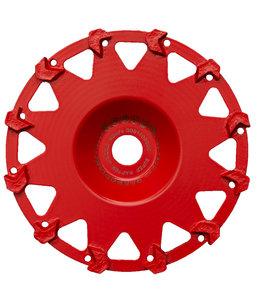 ZBM Diamond Tools 180/22,2mm komschijf Raptor RAS rood Flex
