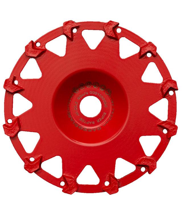 ZBM Diamond Tools Diamant komschijf-180/22,2mm komschijf Raptor RAS rood Flex